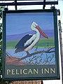 Sign for the Pelican Inn, Stapleford - geograph.org.uk - 948840.jpg