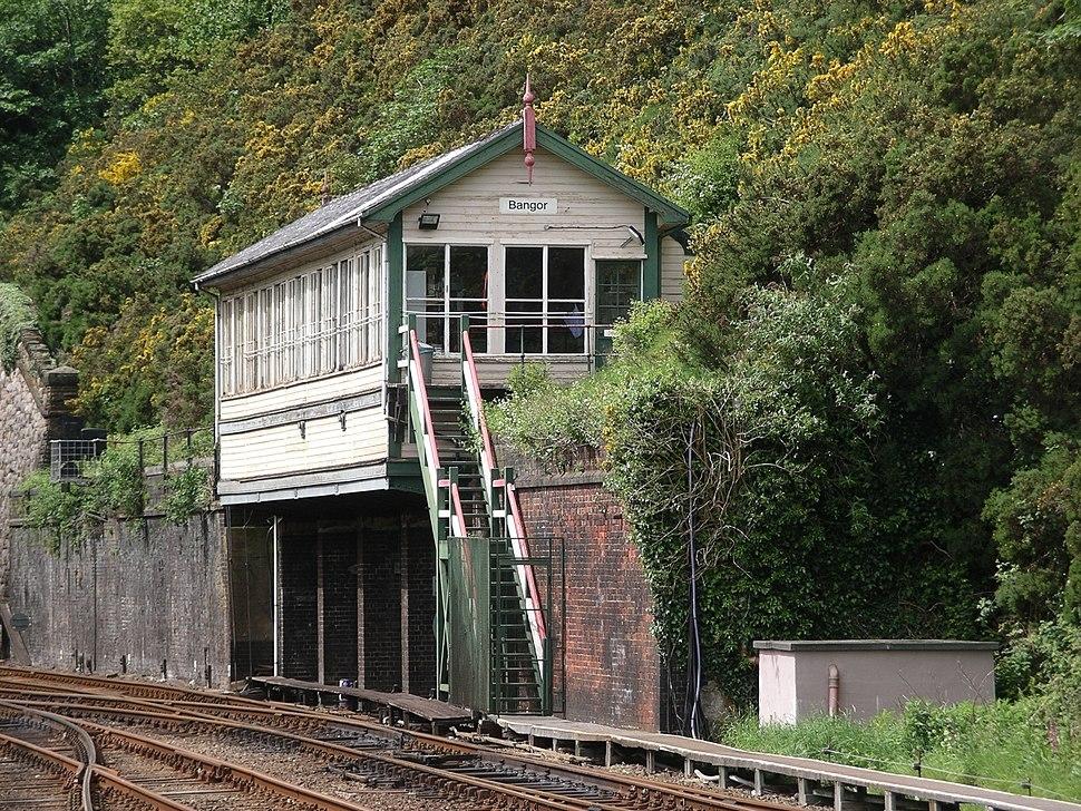 Signal box Bangor
