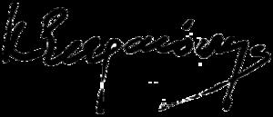 Konstantinos Stephanopoulos - Image: Signature of Konstantinos Stephanopoulos