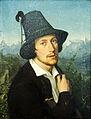 Simon CA Selbstbildnis m Tirolerhut 1830@20150929.JPG