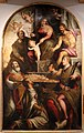 Simone da poggibonsi, madonna col bambino, santi e il beato pietro gargallini, 1581, 01.jpg