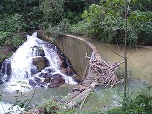 Simpang Pulai - Simpang Pulai waterfall