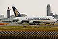 Singapore Airlines A380-841 (9V-SKA) at Narita International Airport.jpg