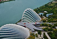 Singapore Gardens by the Bay viewed from Marina Bay Sands 04.jpg