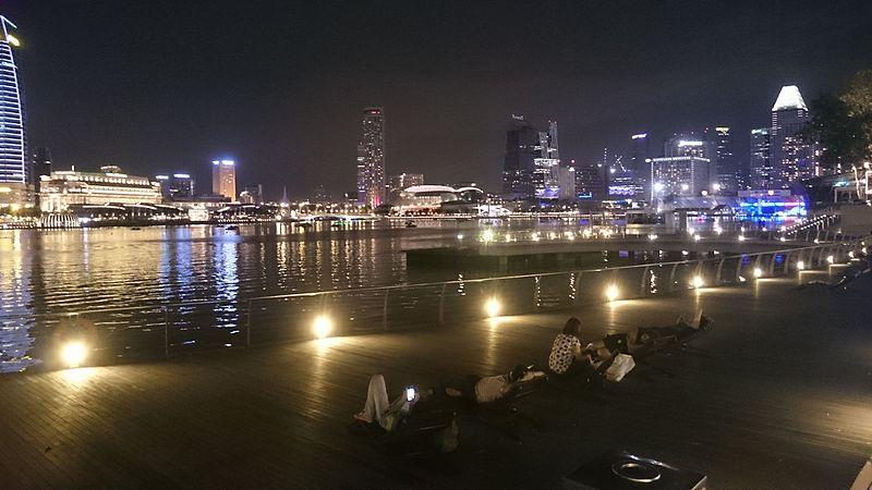 File:Singapore city skyline at night 1.JPG