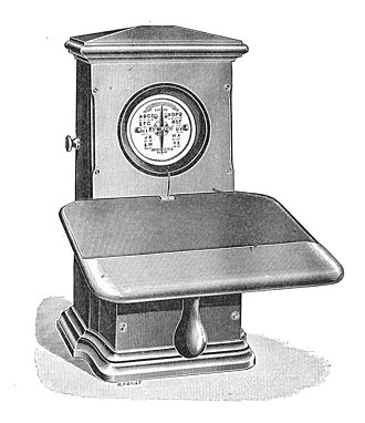 Needle telegraph - A single needle telegraph (1903)