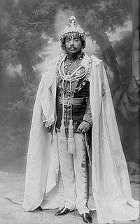 Chandra Shumsher Jang Bahadur Rana Maharaja of Lamjung and Kaski