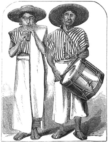 Sister Republic - Aztec musicians at Cholula p.450.jpg