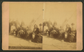 Sitting Bull and his favorite squaw, with officers and their ladies, by Cross, W. R. (William R.).png