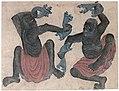 Siyah Qalem - Hazine 2153, s.34b - dancers.jpg