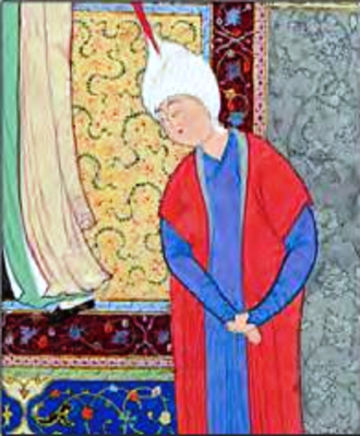 Siyâvash - painting of Siyâvash in the Shahnameh of Shah Tahmasp