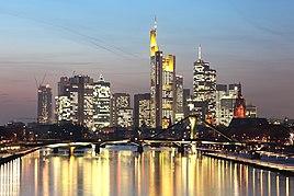 Skyline of Frankfurt am Main