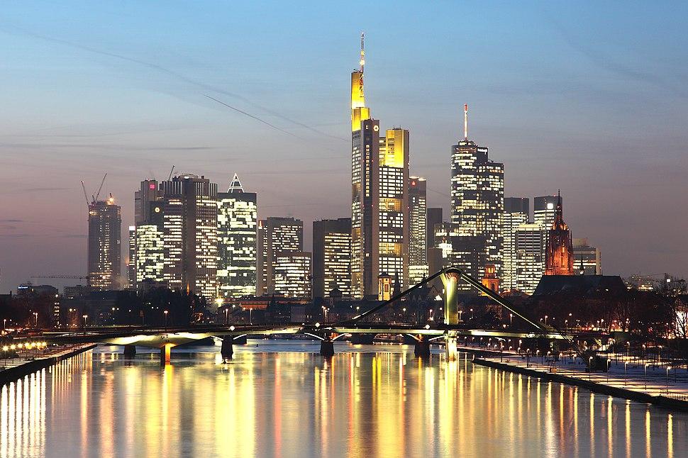 Skyline Frankfurt 2011-01
