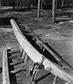 Slede av samojedisk type, undersiden.. Feodorofs gård 1959 - Norsk folkemuseum - NF.06209-015.jpg