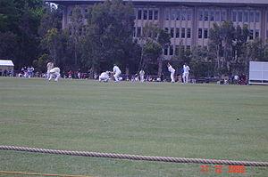 2005–06 Australian cricket season - The South Africans taking on Western Australia at University of Western Australia