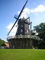 Slottsmöllan is a windmill situated on the remains of the bastion of Capricorn, south of the castle Malmöhus in Malmo.jpg