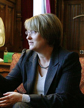 All-women shortlist - Jacqui Smith, the first female UK Home Secretary, was elected using an AWS.