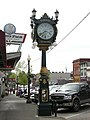 Snohomish, WA - Legends Antiques clock.jpg