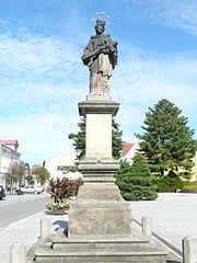 Statue of John of Nepomuk (Rožnov pod Radhoštěm, Masarykovo náměstí)