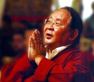 Sogyal Rinpoche Tibetan Dzogchen lama of the Nyingma tradition