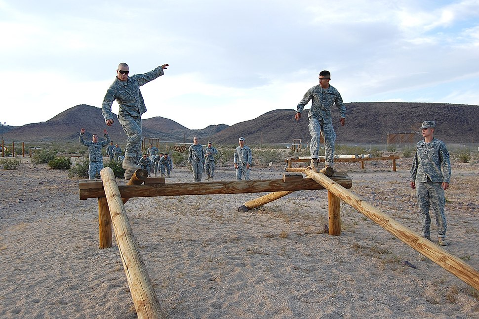 Soldiers at Fort Irwin