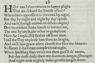william shakespeare sonnet 27