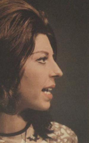 Soraya Ghasemi - Soraya Ghasemi in 1971
