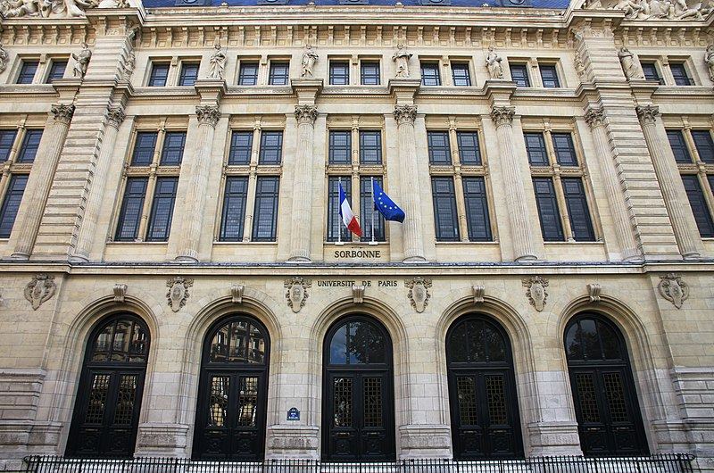 Fichier:Sorbonne university main building entrance.jpg