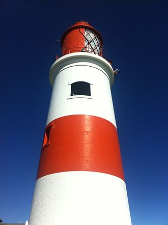 Henry Norris (engineer) - Souter lighthouse tower at Lizard Point, Marsden