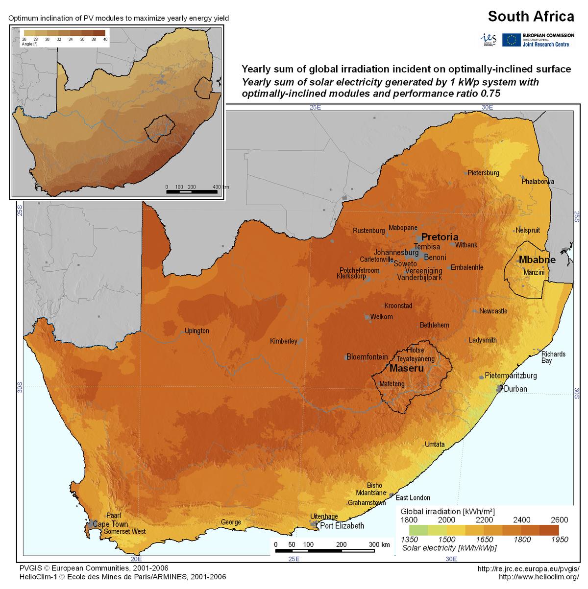 Nergie solaire en afrique du sud wikip dia - Fours solaires en afrique ...