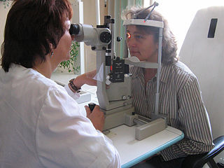 Field of medicine treating eye disorders