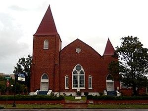 Springfield Baptist Church (Augusta, Georgia) - Image: Springfield Baptist Church 2