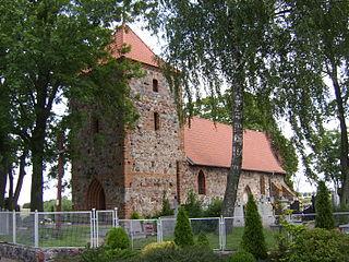 Srebrniki Village in Kuyavian-Pomeranian, Poland