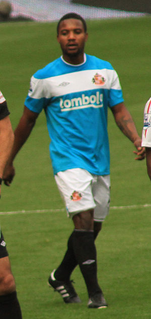 Stéphane Sessègnon - Sessègnon playing for Sunderland in 2011.