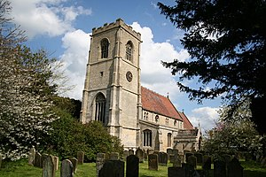 Stickney, Lincolnshire - Image: St.Luke's church, Stickney, Lincs. geograph.org.uk 163868