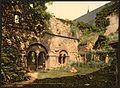 St. Bavon Abbey, the Virgin's Crypt, Ghent, Belgium-LCCN2001697937.jpg