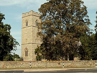 Flempton village in the United Kingdom