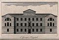 St. George's Hospital, Hyde Park Corner. Engraving by W. Tom Wellcome V0013813.jpg