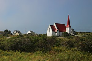 St. John's Anglican Church (Peggys Cove, Nova Scotia) - The Church in 2017