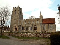 St. Lawrence's church, Little Waldingfield, Suffolk - geograph.org.uk - 151743.jpg