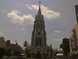 St. Mary's Basilica, Bangalore - Image: St. Mary's Basilica Bangalore