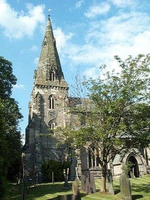 Austrey - Image: St. Nicholas, Austrey geograph.org.uk 118988
