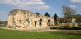 St. Oswald's Priory, Gloucester south side.jpg