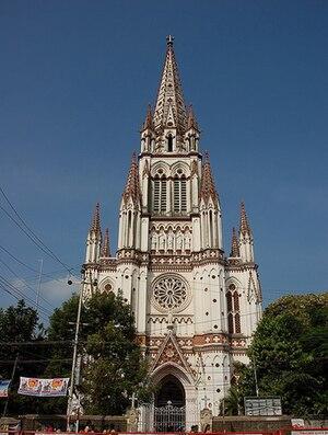 Our Lady of Lourdes Church, Tiruchirappalli - Church view