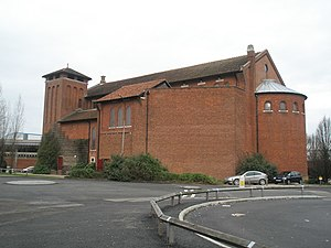 Grade II* listed buildings in Portsmouth - Image: St Agatha's Landport 659113
