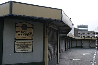 St David's, Cardiff - St David's Market