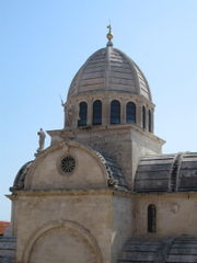 Cathedral of St Jacob in Šibenik from 1555, UNESCO World Heritage