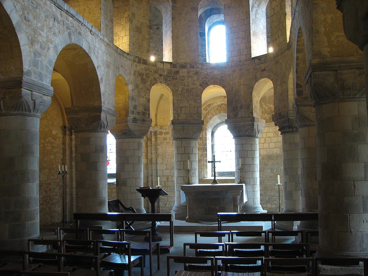 St John's Chapel, inside the White Tower