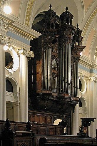 St John-at-Hampstead - The organ