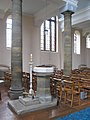 St John the Divine, Mawney Road, Romford - Font - geograph.org.uk - 1763410.jpg